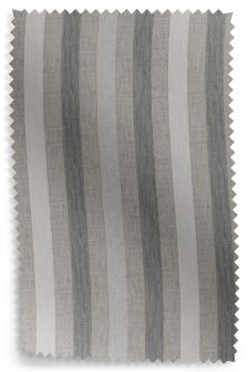 Belgian Soft Twill Stripe Grey Fabric Roll
