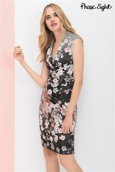 Phase Eight Black Kyoto Print Dress