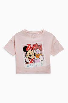 Minnie Mouse™ & Daisy Short Sleeve T-Shirt (3-16yrs)