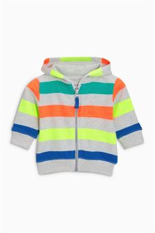 Stripe Zip Through (3mths-6yrs)