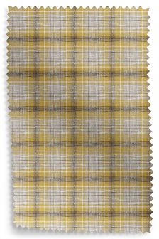 Boucle Check Ochre Fabric Roll