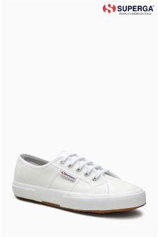 Superga® White Leather 2750