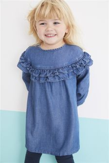 Tencel® Ruffle Dress (3mths-6yrs)