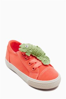 Character Lace-Up Trainers (Younger Girls)
