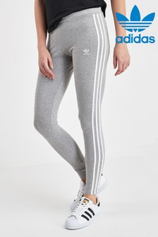 adidas Originals Grey 3 Stripe Legging