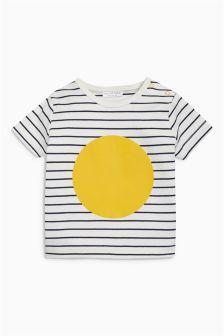 Stripe/Circle T-Shirt (0mths-2yrs)