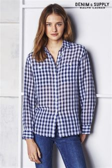 Ralph Lauren Denim And Supply Check Shirt