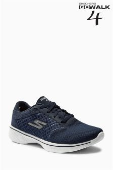 Skechers Navy Go Walk 4 Trainer
