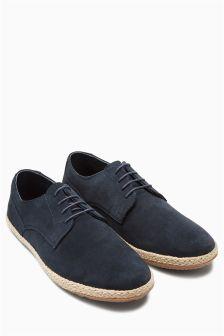 Suede Jute Shoe