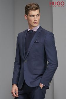 Hugo Tailoring Navy Huge Jacket