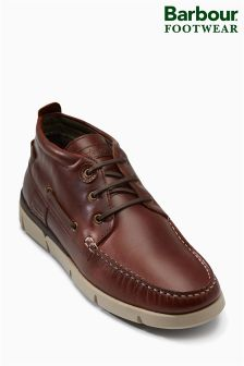 Barbour® Brown Phil Boat Boot