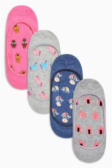 Circus Animal  Footsies Four Pack