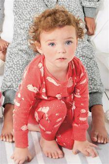 Snowman And Penguin Snuggle Pyjamas (9mths-8yrs)