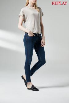Replay® Rinse Joi Super Skinny Mid Rise Jean