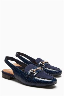 Slingback Loafers