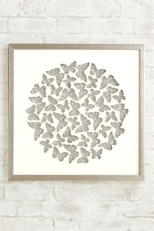 Sequin Butterfly Frame