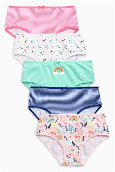 Unicorn Briefs Five Pack (1.5-12yrs)