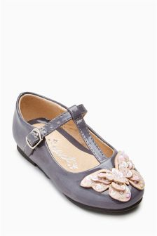 Butterfly T-Bar Shoes (Younger Girls)