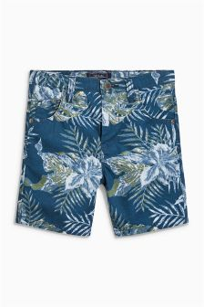Leaf Print Shorts (3-16yrs)
