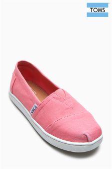 Toms Bubblegum Pink Canvas Alpargatas Shoe
