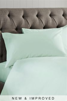 Set Of 2 300 Thread Count Crisp & Fresh Egyptian Cotton Pillowcases
