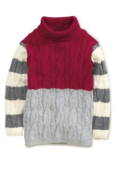 Colourblock Roll Neck (3mths-6yrs)