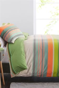 Bradbury Bright Stripe Bed Set Studio Collection By Next