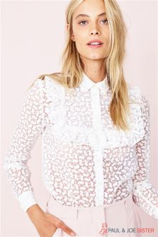 Paul & Joe Sister Geo Lace Blouse