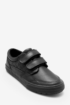 Leather Double Strap Shoes (Older Boys)