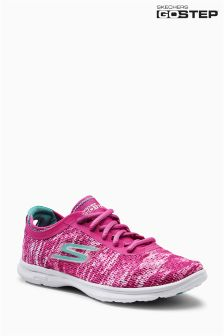 Skechers® Pink/White Go Step