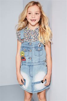 Badge Pinafore (3-16yrs)
