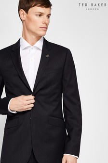 Ted Baker Plain Suit Black Jacket