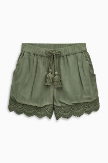 Lace Trim Shorts (3-16yrs)