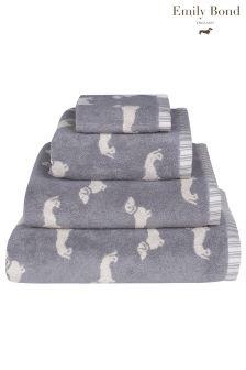 Emily Bond Dachshund Towel