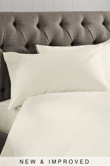 Set Of 2 300 Thread Count Crisp & Fresh Egyptian Cotton Pillowcases