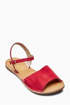 Peep Toe Sandals (Older Girls)