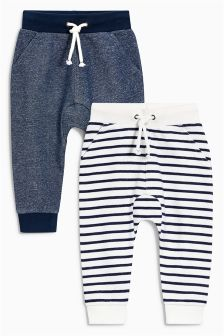 Striped Joggers Two Pack (3mths-6yrs)