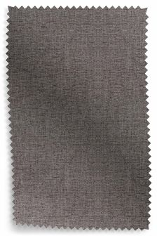 Textured Weave Light Charcoal Fabric Roll