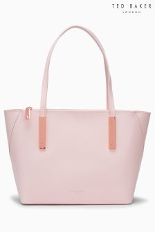 Ted Baker Pink Dimita Rose Gold Trimmed Mini Shopper