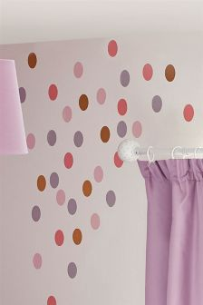 Set Of 50 Polka Dot Stickers
