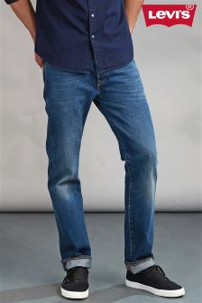 Levi's® 501 Straight Fit Jean in Cassius Strong Wash