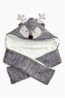 Deer Hat Scarf (Older Girls)