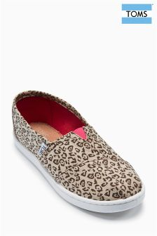 Toms Cheetah Metallic Linen Bimini