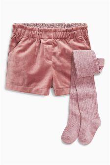 Shorts And Tights Set (3mths-6yrs)