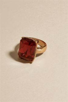Red Jewelled Ring