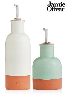 Set Of 2 Jamie Oliver® Terracotta Oil And Vinegar Drizzlers