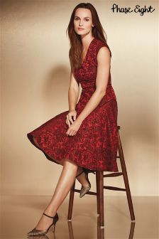Phase Eight Red Amelie Dress