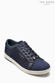 Ted Baker Navy Terner Cupsole Trainer