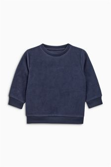 Long Sleeve Fleece Top (3mths-6yrs)