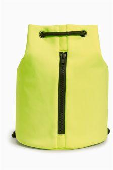 Fluro Yellow Duffle Bag